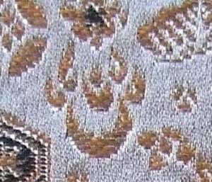 西陣金襴宝尽くし紋様 宝珠