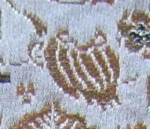 西陣金襴宝尽くし紋様 隠れ蓑