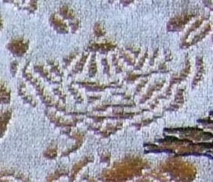 西陣金襴宝尽くし紋様 隠れ笠