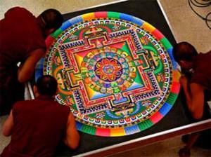 チベット仏教の芸術『砂曼荼羅』
