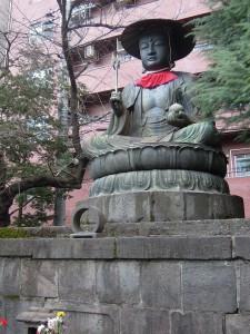新宿二丁目 大宗寺 銅造地蔵菩薩坐像