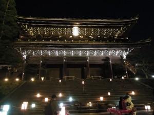 2013 京都 花灯路 知恩院山門