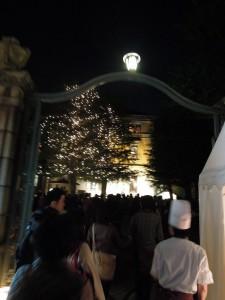 2013 京都 花灯路 円山公園 長楽館