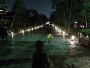 2013 京都 花灯路 大谷祖廟