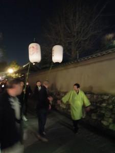 2013 京都 花灯路 狐の嫁入り