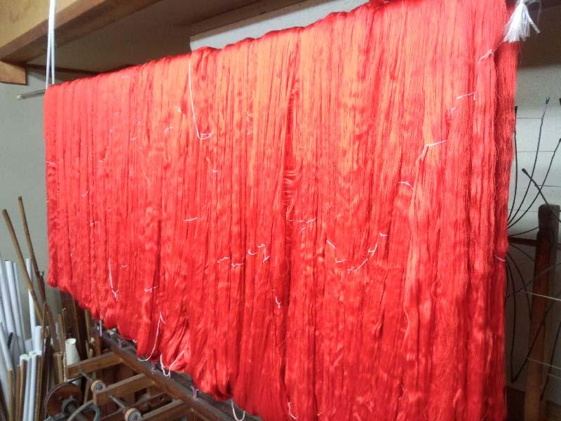 西陣織 金襴 正絹 西陣織屋の風景