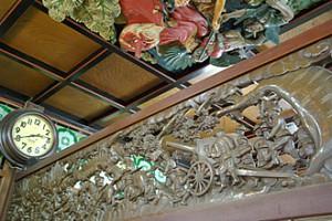 船岡温泉 天井絵
