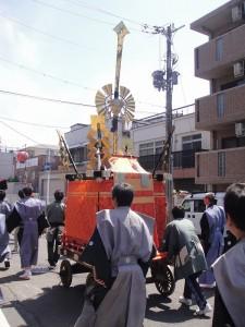 玉の輿神社 今宮神社 環幸祭