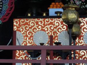 奈良 東大寺 金襴