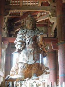 奈良 東大寺 広目天像