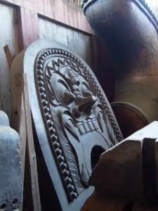 奈良 東大寺 鬼瓦