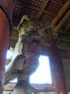奈良 東大寺 多聞天像