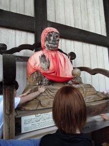 奈良 東大寺 びんずるさん