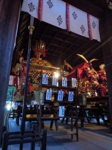 京都上御霊神社 御霊祭 御神輿
