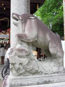 護王神社 猪狛犬