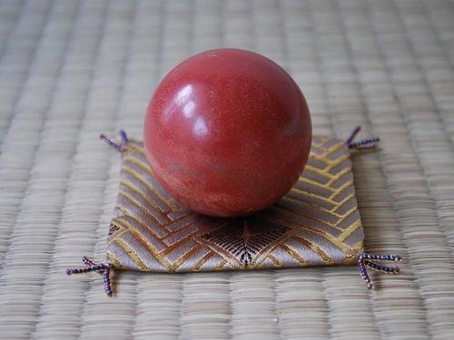 西陣織 金襴 菱繋ぎ紋様 泥団子用小座布団