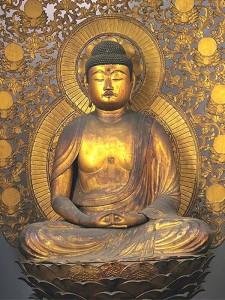 安楽寿院の本尊阿弥陀如来坐像