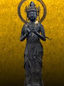 金松寺の聖観世音菩薩像