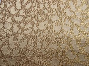 西陣金襴 細胞紋様