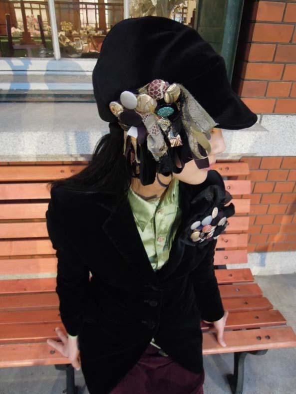 telcoさん&西陣織金襴帽子