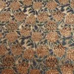 西陣織 金襴  正絹 笹葉紫陽花
