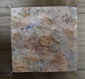 西陣金襴本金柄箔宝尽くし紋様 袱紗