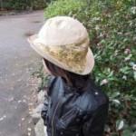 西陣織 金襴 子供金襴帽子