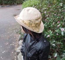 子供金襴帽子