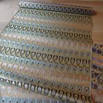 全正絹 西陣織 金襴  羽重ね紋様