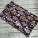 西陣織 金襴 正絹 武田菱宝尽くし袱紗包み