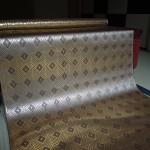 全正絹 西陣織 金襴 菱繋ぎ紋様