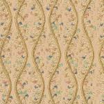 西陣織 金襴 立枠波頭紋様 小