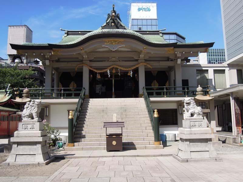 難波神社 本殿