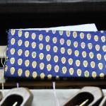 西陣織 金襴 滴紋様名刺入れ