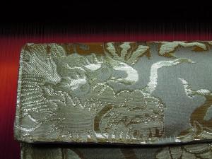 西陣織 金糸金箔 鏡竜財布