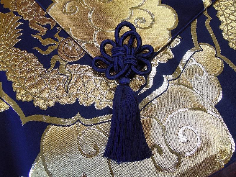 西陣織屋の正絹菊結びタッセル