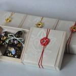 西陣織 金襴 正絹 金襴織屋の匂い袋の包装
