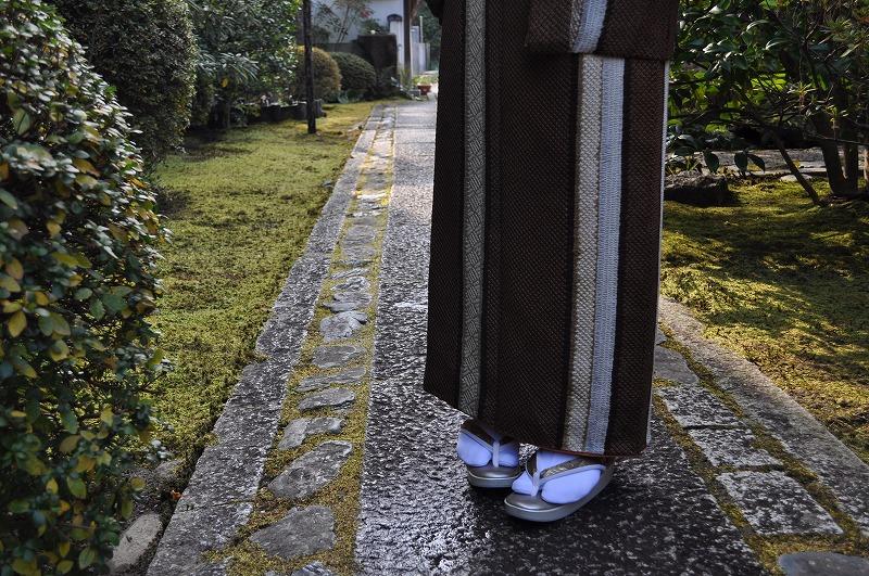 KaroKaro 正絹菱繋ぎ 草履