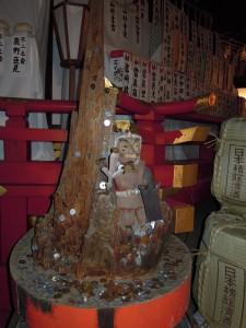 吉田神社 方相氏像