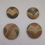 西陣織 金襴 正絹 くるみぼたん