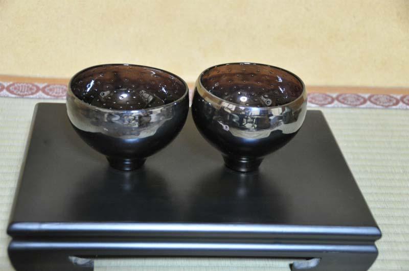 ガラス作家 東敬恭 ガラス茶碗