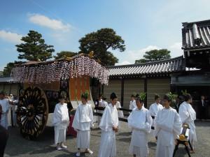 葵祭 2013 牛車(ぎっしゃ)