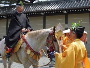 葵祭 2013 勅使(ちょくし)