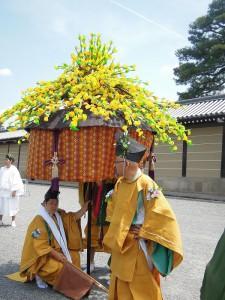 葵祭 2013 風流傘(ふりゅうがさ)