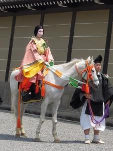 葵祭 2013 駒女(むなのりおんな)
