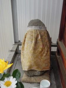 京都中京区 元・立誠小学校下のお地蔵さん