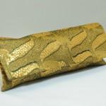 西新金襴 アフリカ紋様 ペン入れ