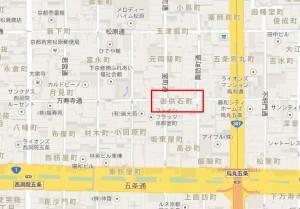 京都市下京区御供石町