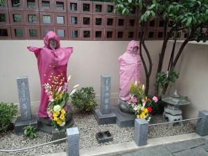 赤坂 浄土寺 「子育て地蔵尊」と「身代わり地蔵尊」