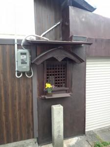 上立売通一本下ル寺町三本西下塔之段町のお地蔵さん